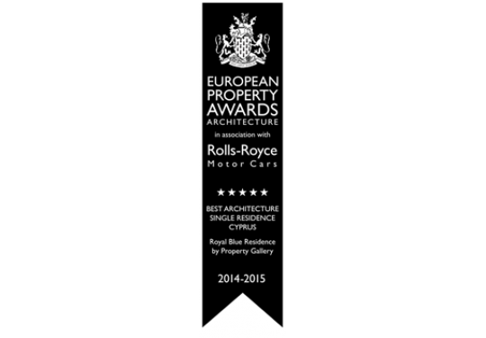 BEST ARCHITECTURE SINGLE RESIDENCES CYPRUS: ROYAL BLUE RESIDENCES