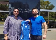 Giapanis returned to the volleyball Apollon