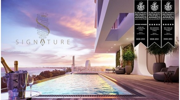 The Signature Residences won European Property Awards 2020
