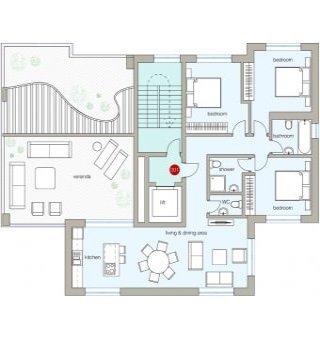 Alfa Residences: Апартаменты 301