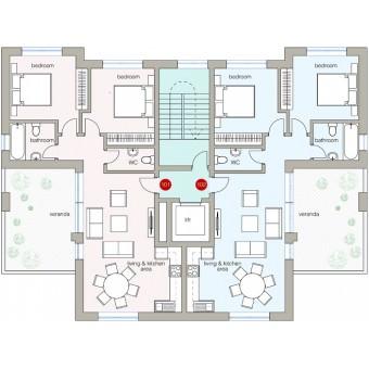 Alfa Residences: Apartment 101
