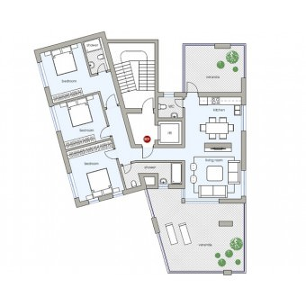 Delta Residences: Апартаменты 301