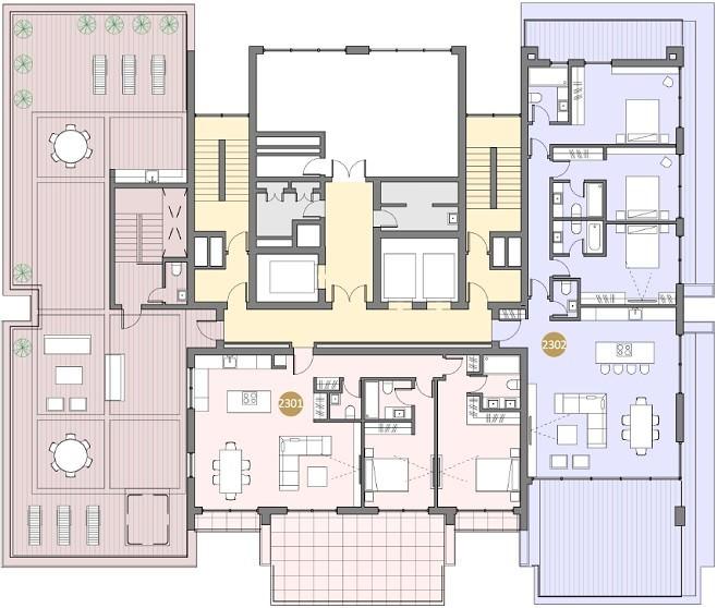 23 этаж
