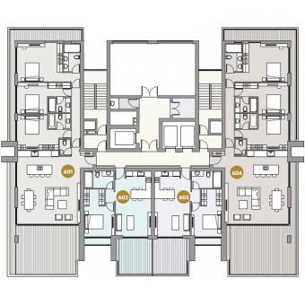 Dream Tower: Apartment  601