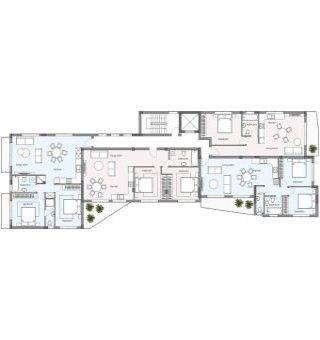 Evergreen Блок B:  Апартаменты 103