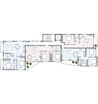 Evergreen Блок B:  Апартаменты 201