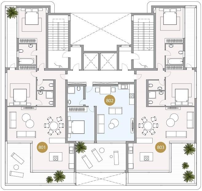 8 этаж