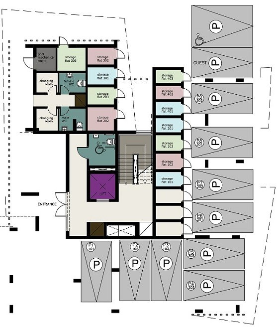 0 этаж