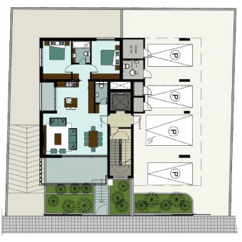 Z Residences: Apartment 101